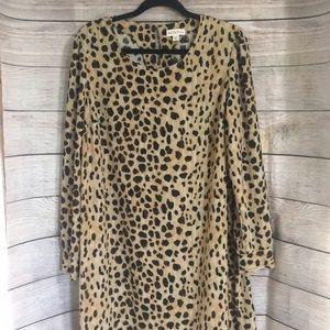⭐️3 for $20⭐️ Merona Animal Print Dress Size XXL